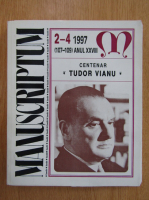 Revista Manuscriptum, anul XXVIII, nr. 2-4 (107-109), 1997