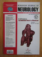 Anticariat: Revista Romanian Journal of Neurology, volumul XIII, nr. 1, 2014