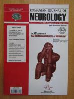 Anticariat: Revista Romanian Journal of Neurology, volumul XIV, nr. 1, 2015