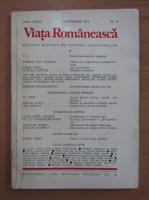 Anticariat: Revista Viata Romaneasca, anul LXXIX, nr. 9, septembrie 1984