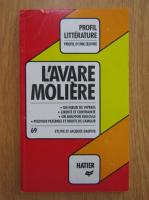 Anticariat: Sylvie Dauvin - L'avare, Moliere. Analyse critique