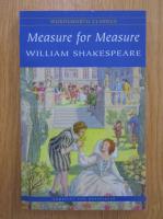 Anticariat: William Shakespeare - Measure for measure