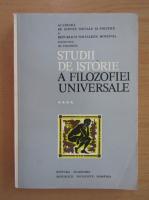 Anticariat: Constantin Ionescu Gulian, Simion Ghita, Lucian Radu Stanciu - Studii de istorie a filozofiei universale (volumul 4)