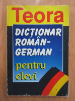 Anticariat: E. Sireteanu, I. Tomeanu - Dictionar roman-german pentru elevi