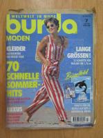 Anticariat: Revista Burda, nr. 7, iulie 1994