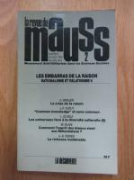 Anticariat: Revista Mauss, nr. 2, 1988