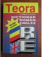 Andrei Bantas - Dictionar Roman-Englez (40.000 cuvinte)