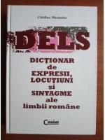 Anticariat: Catalina Maranduc - Dictionar de expresii, locutiuni si sintagme ale limbii romane
