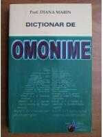 Diana Marin - Dictionar de omonime