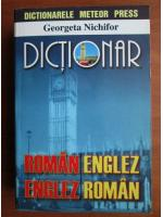 Anticariat: Georgeta Nichifor - Dictionar Roman-Englez, Englez-Roman