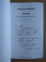 Olimpian Ungherea - Agonia (cu autograful autorului)