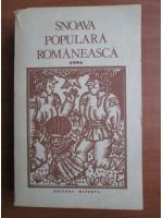 Anticariat: Snoava populara romaneasca (volumul 4)