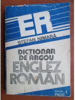 Anticariat: Stefan Nimara - Dictionar de argou Englez-Roman