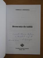 Anticariat: Corneliu Georgescu - Broscuta de pe tabla (cu autograful autorului)