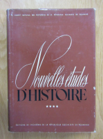 Nouvelles etudes d'histoire (volumul 4)