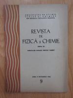 Anticariat: Revista de fizica si chimie, anul II, nr. 9, septembrie 1965