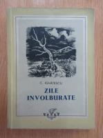 Anticariat: C. Ignatescu - Zile involburate