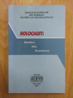 Anticariat: Holocaust. Ganduri, idei, sentimente