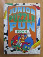 Anticariat: Junior Puzzle Fun (volumul 4)