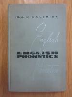 O. J. Dickushina - English Phonetics