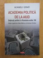 Anticariat: Borbely Erno - Academia politica de la Aiud