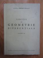 Anticariat: Gheorghe Vranceanu - Lectii de geometrie diferentiala (volumul 3)
