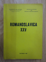 Anticariat: Romanoslavica (volumul 25)