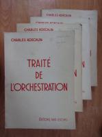 Anticariat: Charles Koechlin - Traite de l'orchestration (4 volume)
