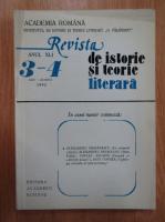 Anticariat: Revista de istorie si teorie literara, anul XLI, nr. 3-4, iulie-decembrie 1993