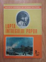 Revista Romana de Istorie Militara. Lupta intregului popor, nr. 2, 1987