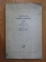 Dictionarul Limbii Romane (volumul 6)