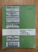 Florea Firan - Inceputurile presei literare craiovene