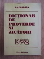 I. A. Candrea - Dictionar de proverbe si zicatori