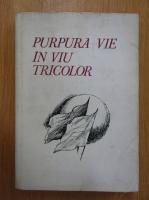 Anticariat: Purpura vie in viu tricolor