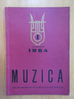Anticariat: Revista Muzica, anul XIV, nr. 1, ianuarie 1964