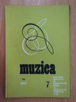 Anticariat: Revista Muzica, anul XVII, nr. 7, iulie 1967