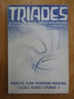 Anticariat: Revista Triades, anul XXXIV, nr. 1, 1986
