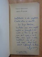 Anticariat: Valentin Hossu Longin - Trenul de flacari (cu autograful autorului)