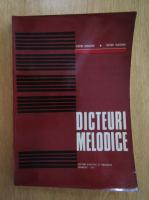 Anticariat: Victor Giuleanu - Dicteuri melodice