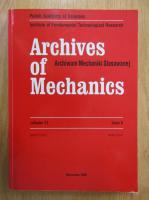 Archives of Mechanics, volumul 51, nr. 6