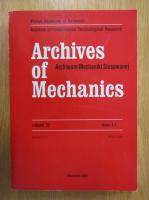 Anticariat: Archives of Mechanics, volumul 52, nr. 4-5