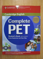 Anticariat: Emma Heyderman - Complete PET. Student's Book with answers
