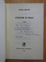 Eugen Frunza - Calator in prag (cu autograful autorului)