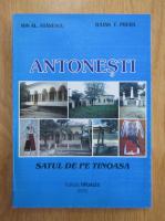 Anticariat: Ion Stanescu - Antonesti. Satul de pe Tinoasa
