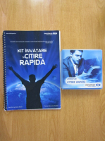 Anticariat: Radu Budei, A. Bordea - Kit Invatare si Citire rapida (contine 2 CD-uri, aparat de citire rapida)