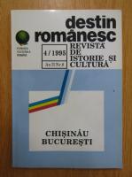 Anticariat: Revista Destin romanesc, anul II, nr. 4, 1995