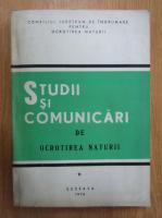 Anticariat: Studii si comunicari de ocrotirea naturii (volumul 1)