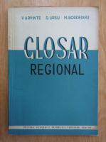 Anticariat: Vasile Arvinte - Glosar regional