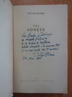 Anticariat: Victor Eftimiu - Sonete (cu autograful autorului)