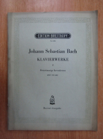 Anticariat: Johann Sebastian Bach. Kalvierwerke (volumul 5)